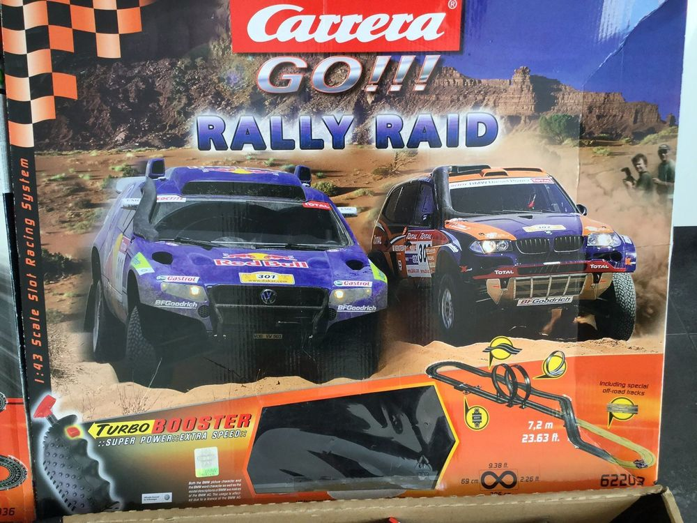 Carrera Go (Rally Raid & Spiderman)