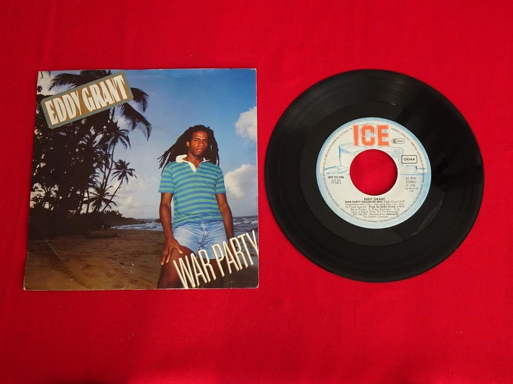 Eddy Grant - War Party/Say I Love You