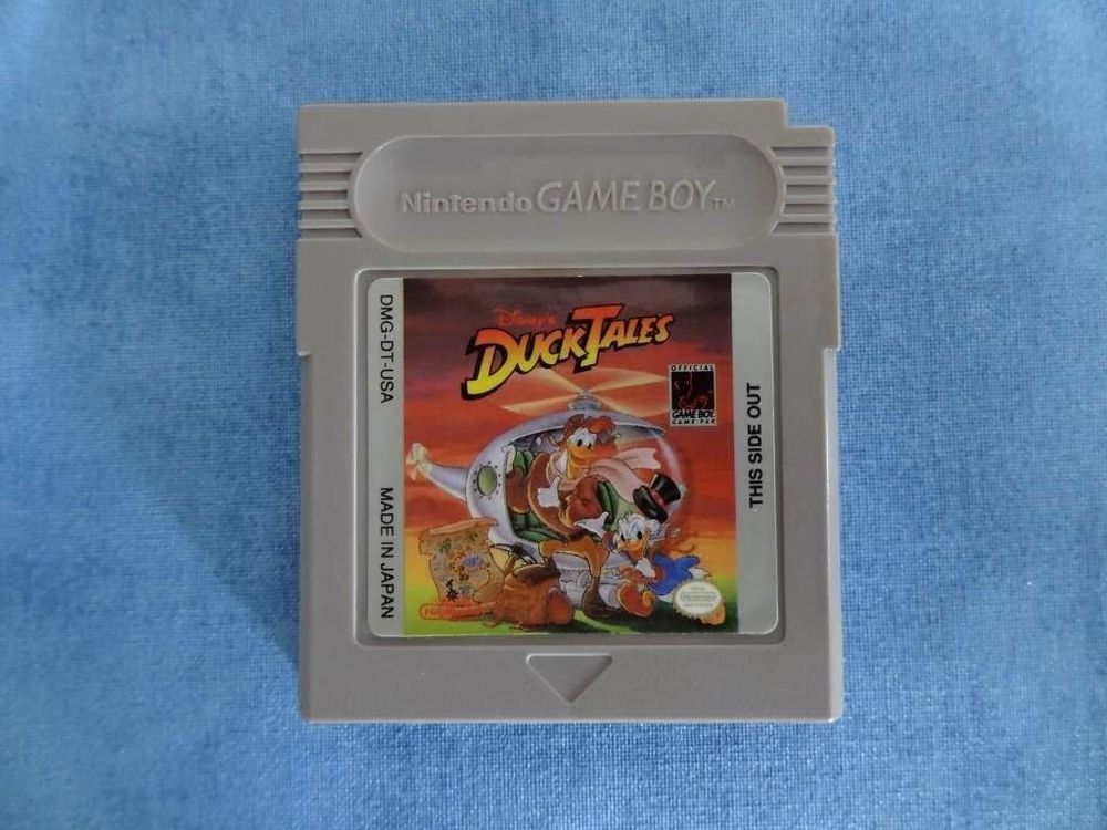 Duck Tales Game Boy