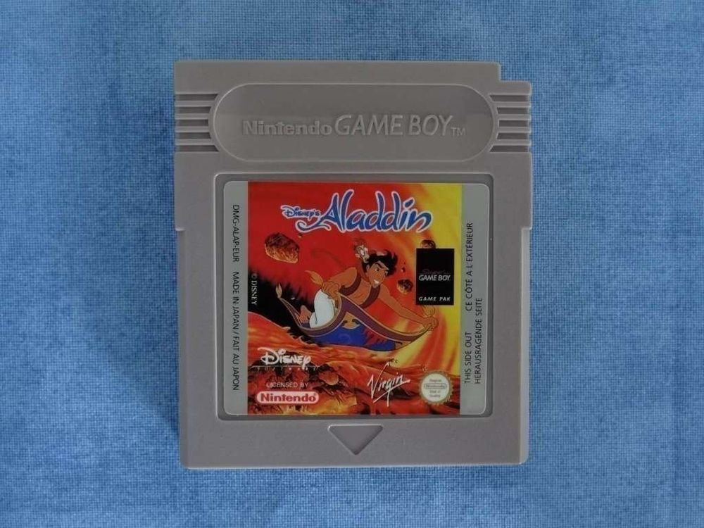 Aladdin Game Boy