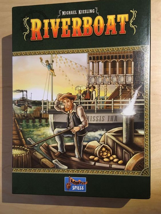 Riverboat Brettspiel