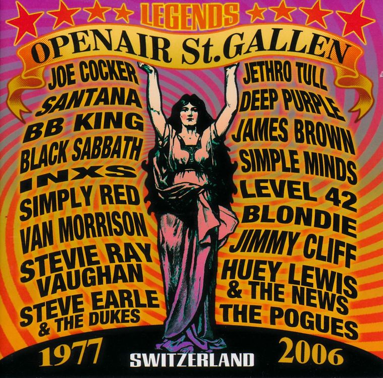 OPEN AIR ST. GALLEN 1977 - 2006 (CD+DVD)