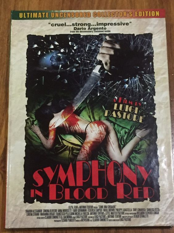 Symphony in Blood Red Mediabook