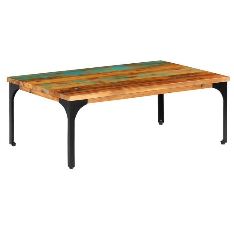 vidaXL Table basse 100x60x35cm Bois de