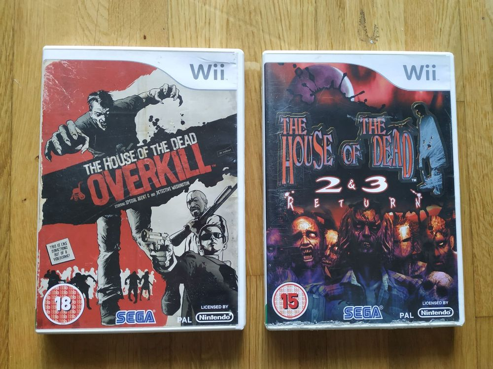 The House of the Dead Wii Games