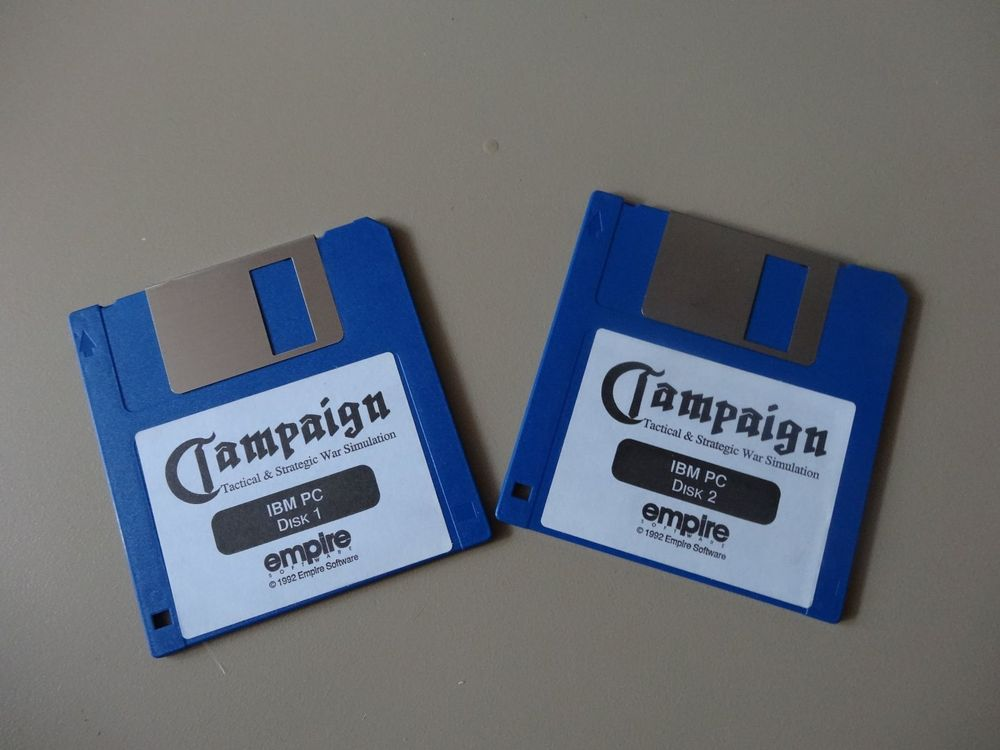 CHAMPAIGN War Simulation Disk 1+2