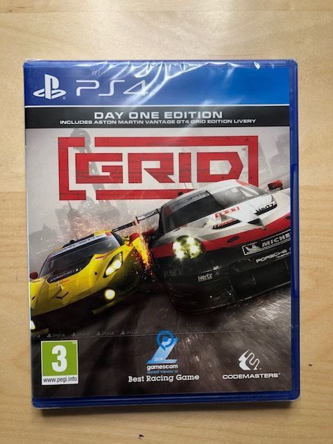 Grid - Day One Edition (Codemasters) PS4