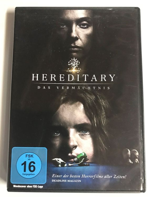Hereditary auf DVD  Horror