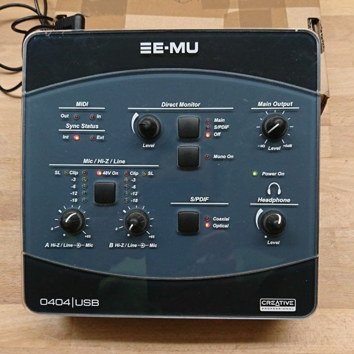 Soundkarte / Soundinterface EMU 0404 USB