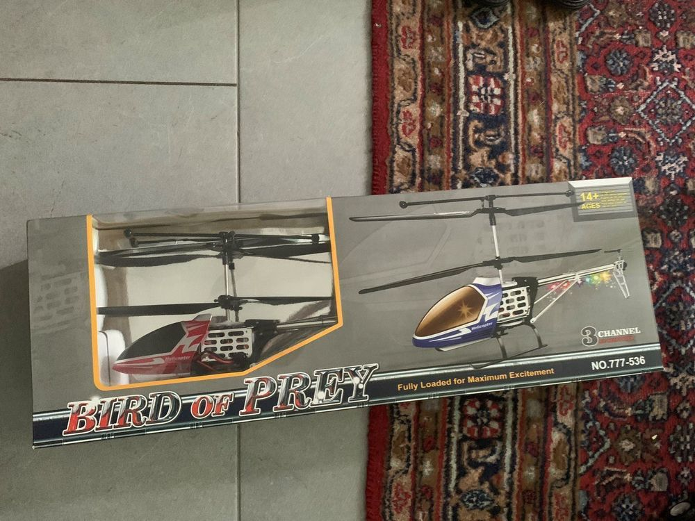 GYRO Metal Bird Of Prey 3.5CH helicopter