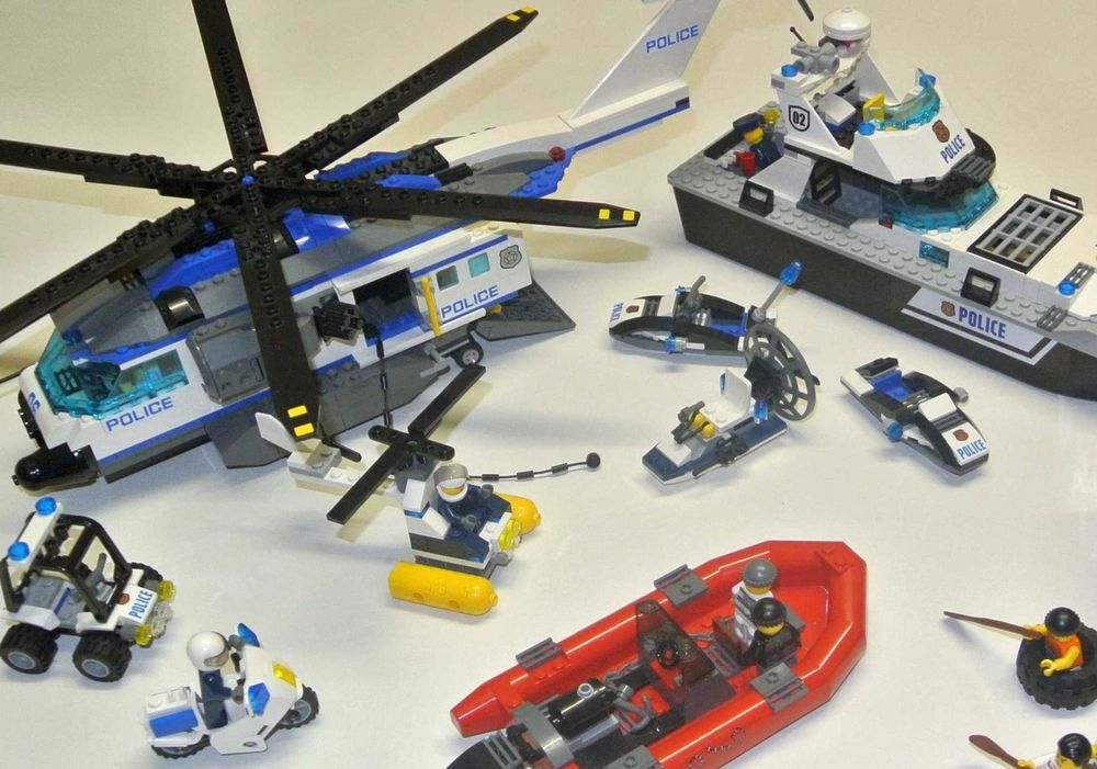 Lego City Polizei-Set