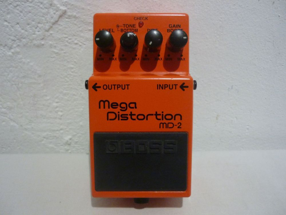 BOSS MD-2 (Mega Distortion) - TOP!