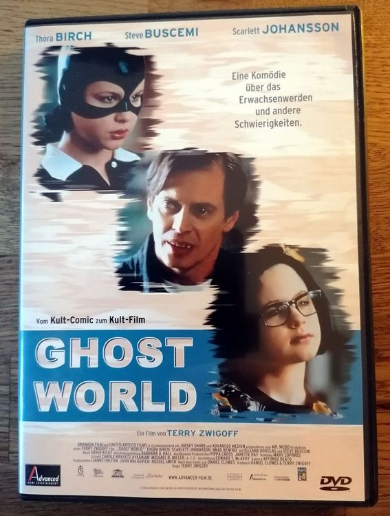 GHOST WORLD DVD mit Scarlett Johansson