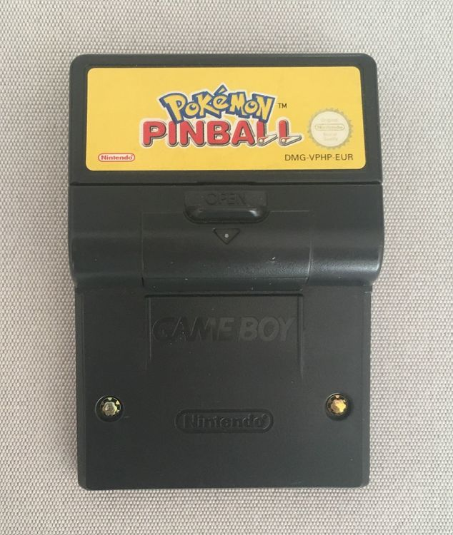 Pokémon Pinball Game Boy Color