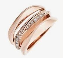 Fossil Ring Rosegold