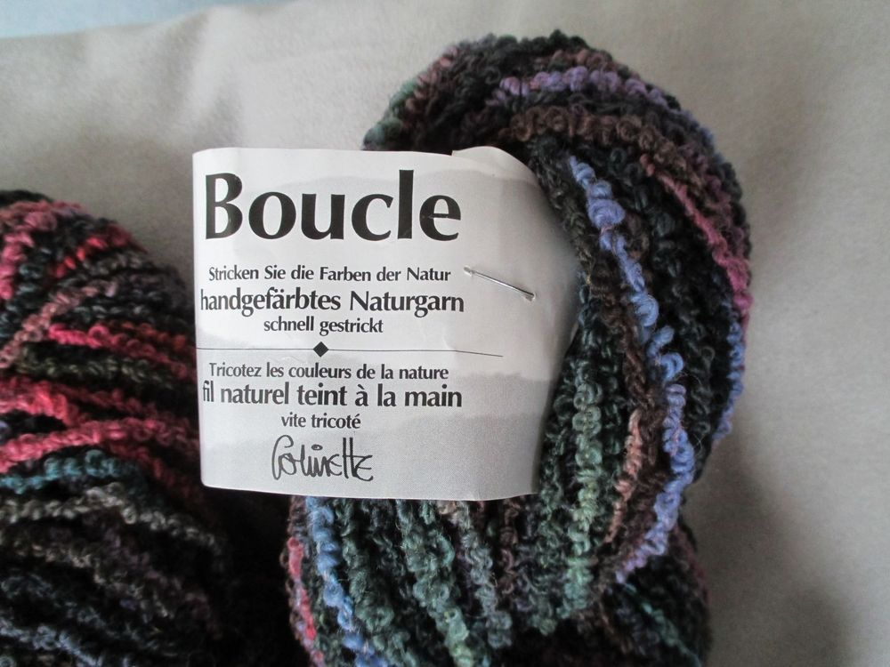 Strickmaterial Boucle / Bailly