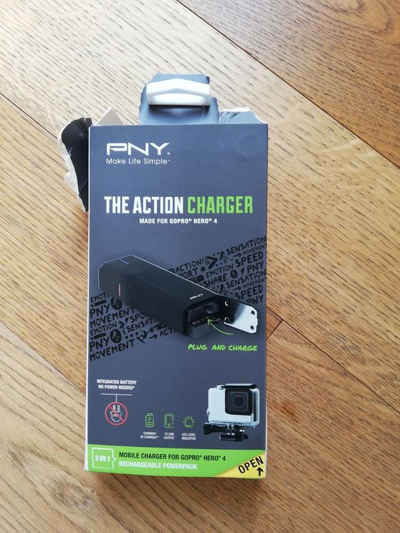 PNY the action charger