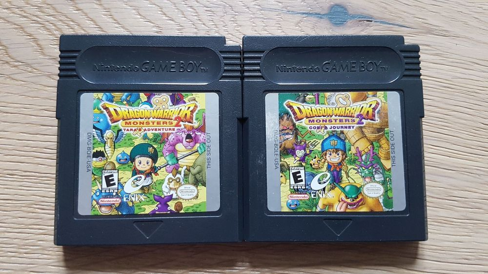 2x Dragon Warrior Monsters 2 ab 1.-