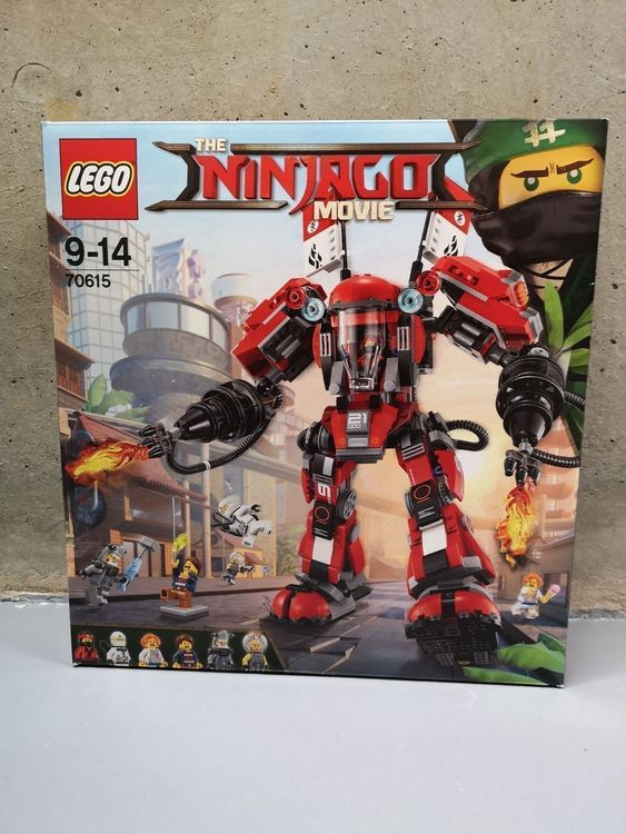 Lego Ninjago Movie 70615 Fire Mech