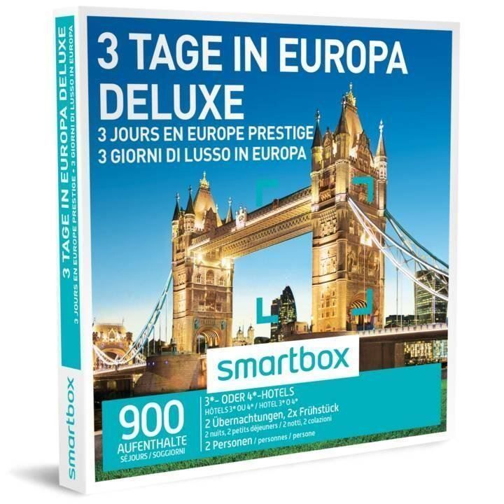 3 Tage in Europa Deluxe - Smartbox