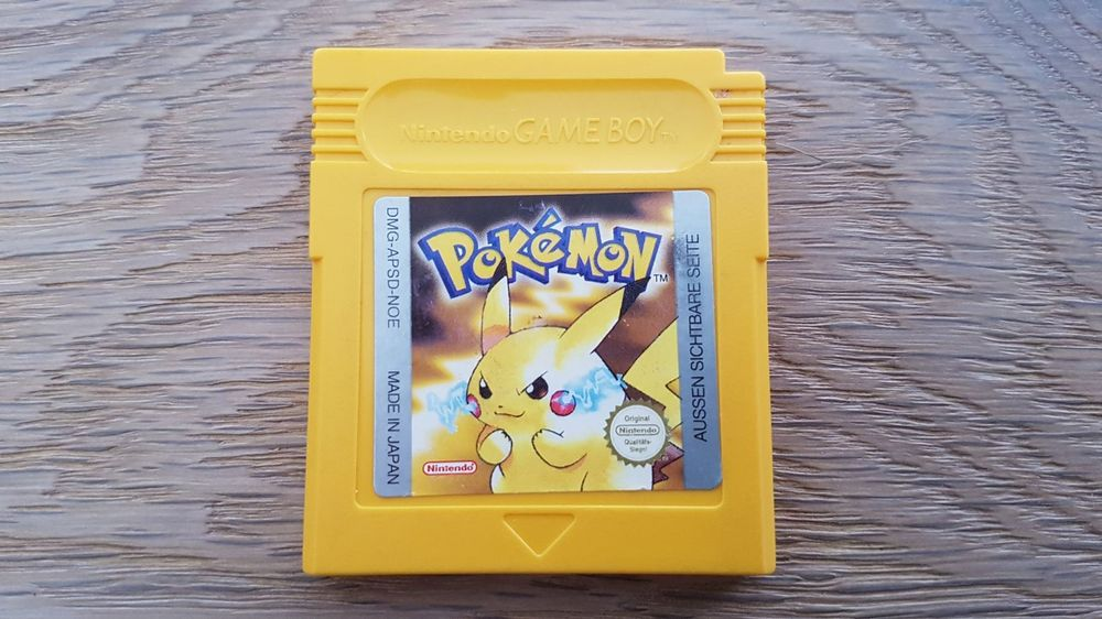 Pokemon Gelb, Nintendo Gameboy