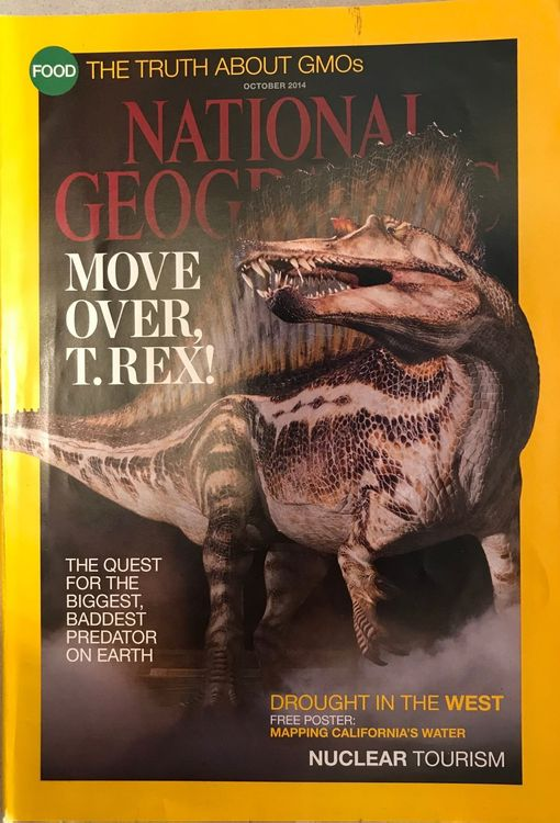 National Geographic in Englisch