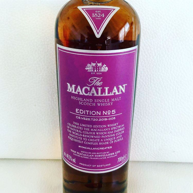 NEW THE MACALLAN EDITION 5