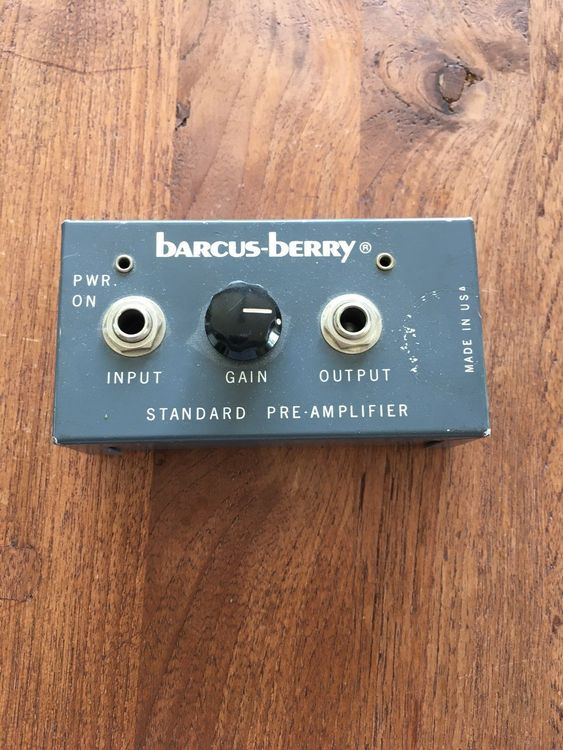 Barcus Berry Preamp