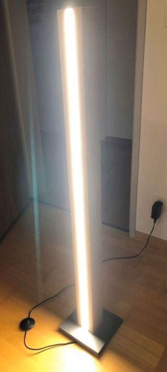 Stehlampe Eiche LED