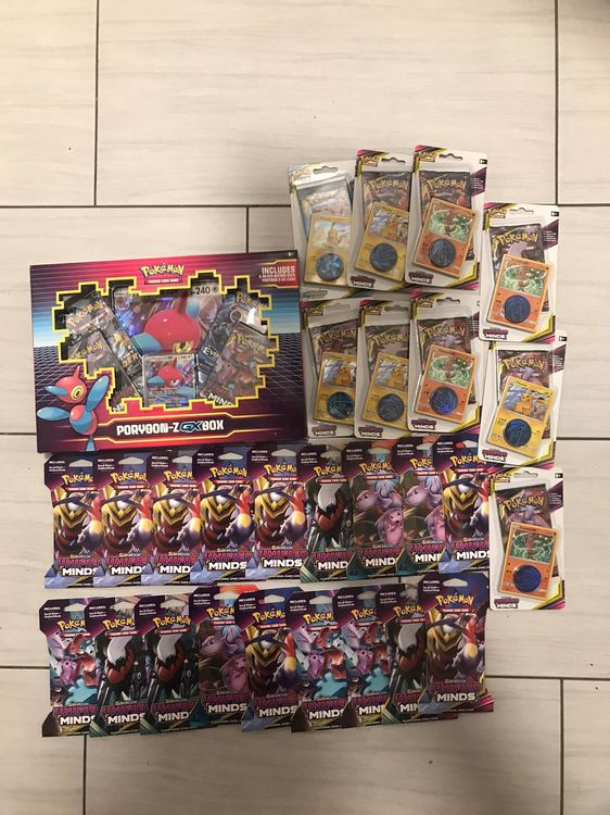 Pokemon Karten Packs