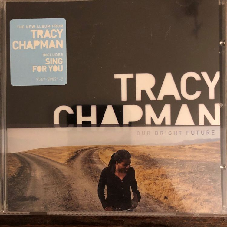 TRACY CHAPMAN our bright future CD 2008