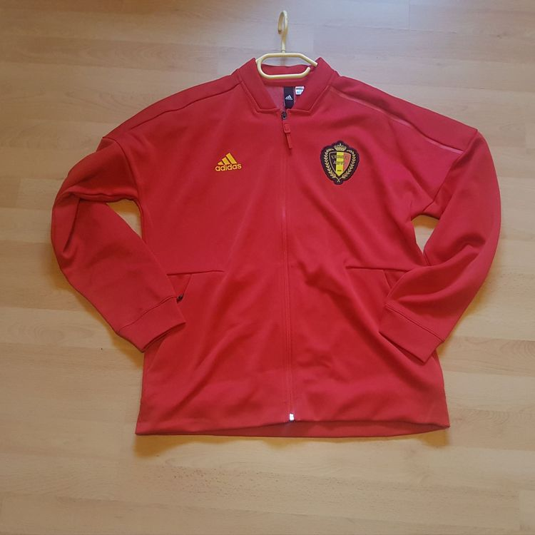 Adidas Belgien Trainings Jacke / L