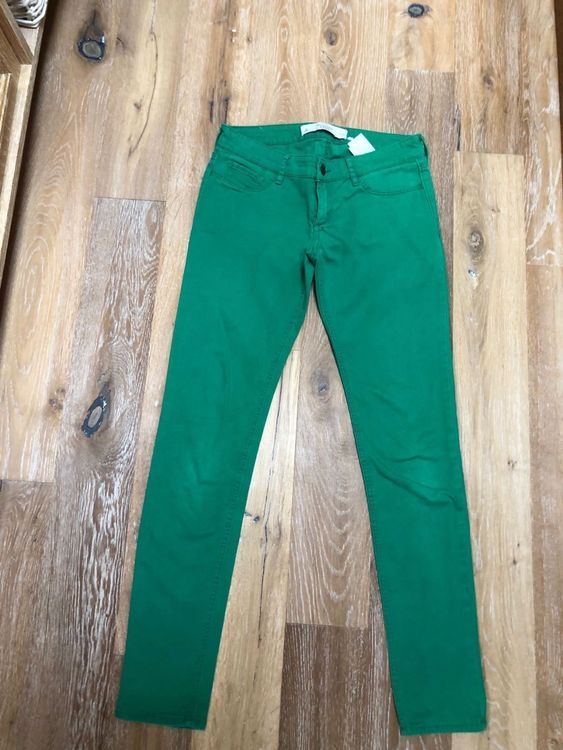Beau jeans vert 'Abercrombie & Fitch'