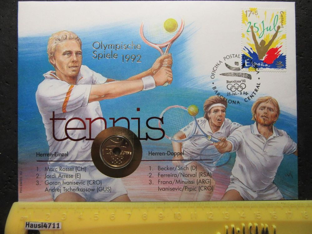 OLYMPIA Marc Rosset Tennis Gold 1992