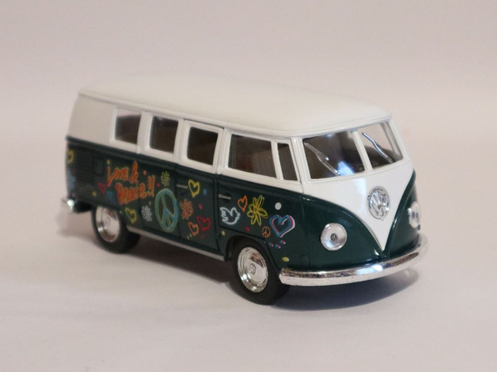 VW Bus T1 1962 Flower Power Love & Peace