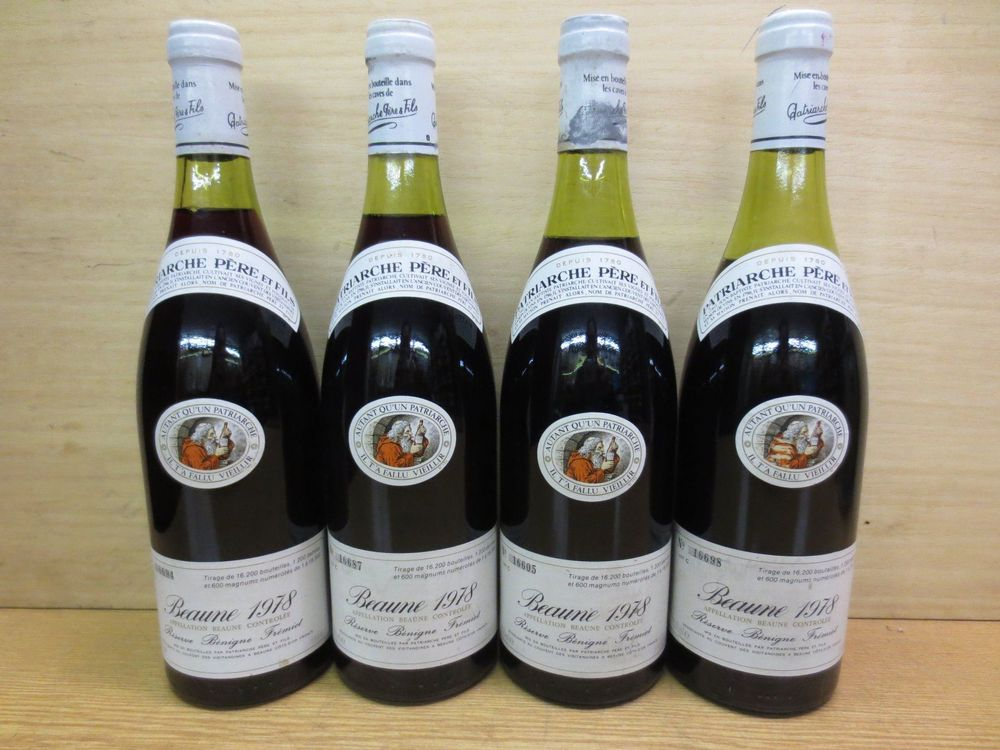 4 Fl. Beaune 1978 (Lot 492)
