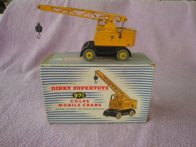DINKY TOYS Coles Mobile Crane 571 in OVP