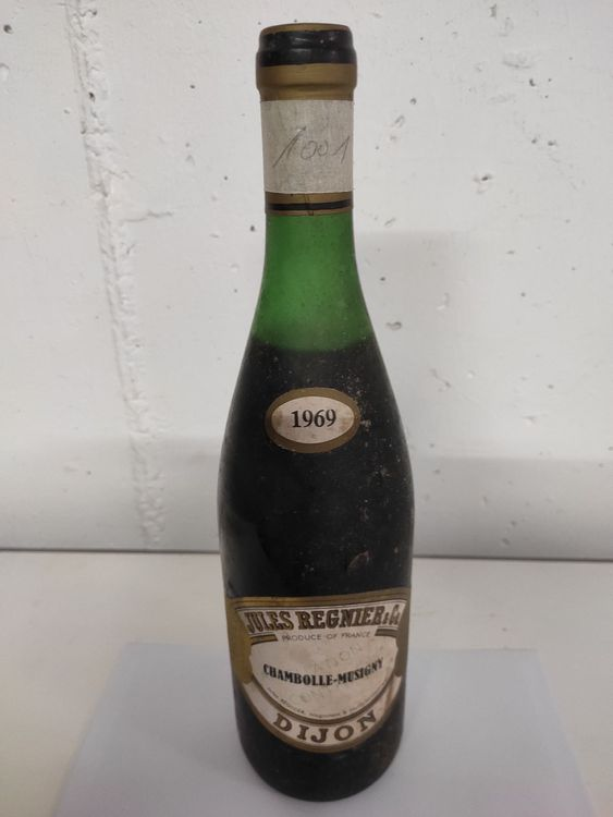 1969 Jules Régnier Chambolle-Musigny