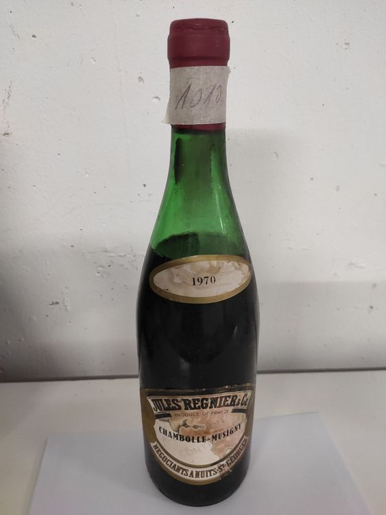 1970 Jules Régnier Chambolle-Musigny