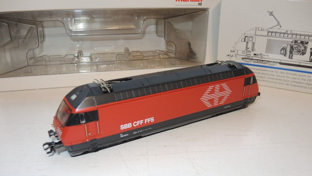 SBB Lok Märklin Re 460 Rail 2000 (220)