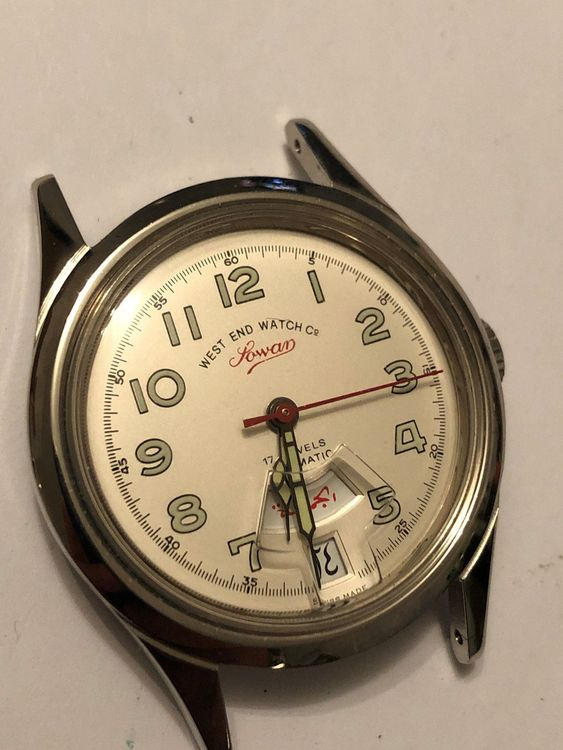 West End Watch Co Lowan Automatic 34 mm