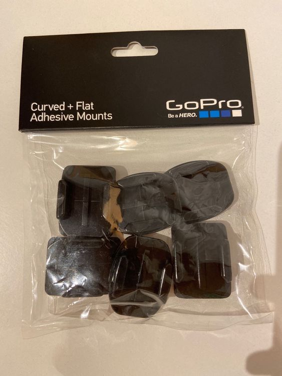 GoPro Curved + Flat Adhesive Mounts