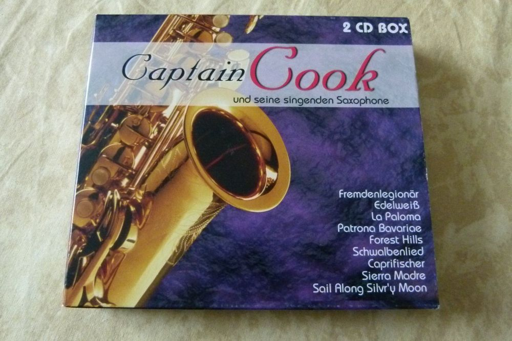 2 CD Captain Cook