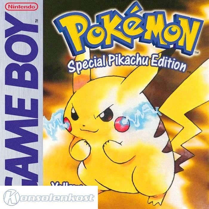 GameBoy - Pokemon Gelbe Edt. / Yellow Ve