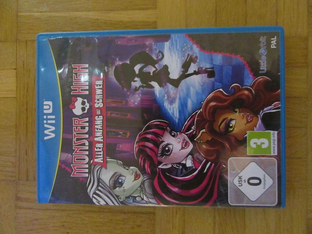 "Wii U Spiel ""Monster High"""