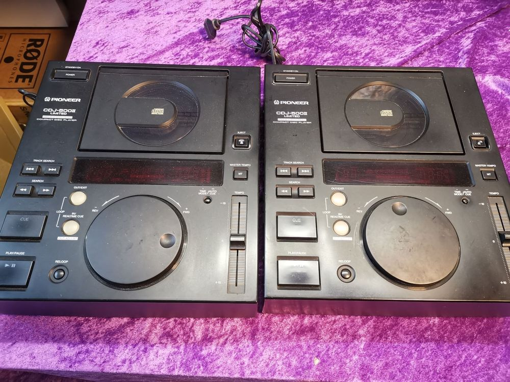 2 Pioneer CDJ-500E DJ CD-Player
