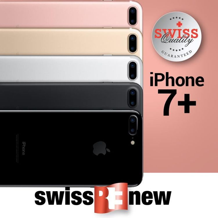 iPhone 7+ 256Gb Diamantschwarz
