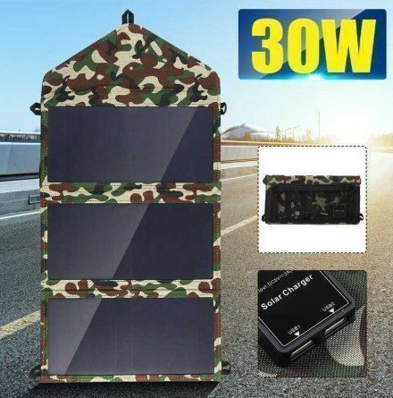 Chargeur camouflage solaire 30W 5V
