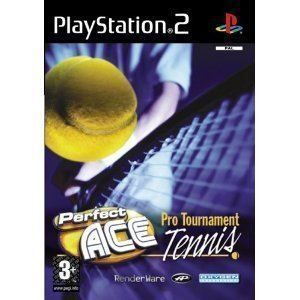PS2    PERFECT ACE PRO TOURNAMENT TENNIS