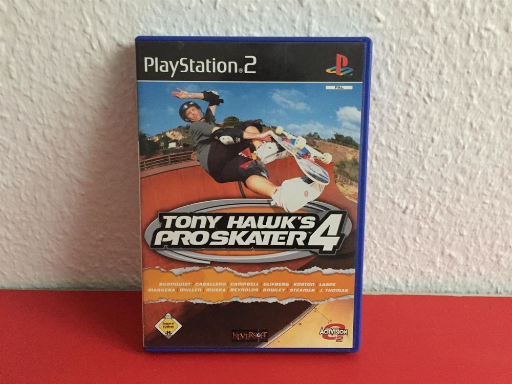 Tony Hawk's Pro Skater 4 / PS2